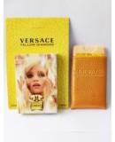Мини-парфюм в кожаном чехле 20мл. Женская туалетная вода Versace Yellow Diamond