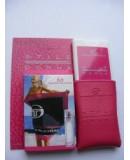 Мини-парфюм в кожаном чехле 20мл. Женская туалетная вода Sergio Tacchini Stile Donna (Стаил Донна)