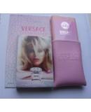 Мини-парфюм в кожаном чехле 20мл. Женская туалетная вода Versace Bright Crystal от Versace (Версаче)