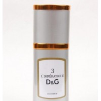 Мини-парфюм. Флакон 40мл. Женская туалетная вода D&G L`Imperatrice 3 (соблазнительный цветочно-водный аромат)
