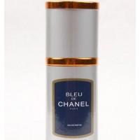 Мини-парфюм. Флакон 40мл. Мужская туалетная вода Chanel Bleu de Chanel (элегантный древесно-цитрусовый аромат)