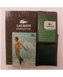 Духи в кожаном чехле. Мужская туалетная вода Lacoste Essential